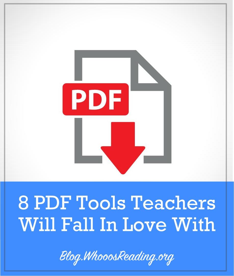 PDF Tools Teachers Will Love